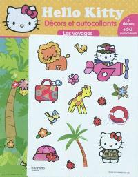 Hello Kitty : décors et autocollants : les voyages