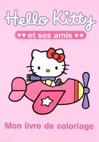 Hello Kitty et ses amis : mon livre de coloriage