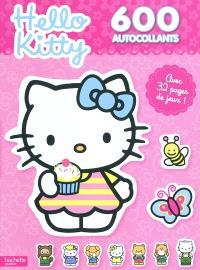Hello Kitty, 600 autocollants