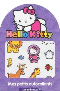 Hello Kitty, les animaux : mes petits autocollants