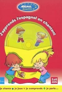 J'apprends l'espagnol en chantant (3 à 6 ans) : je chante, je joue, je comprends, je parle