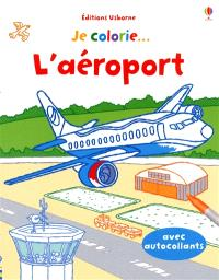 Je colorie... l'aéroport