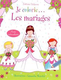Je colorie... les mariages