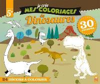Je crée mes coloriages de dinosaures