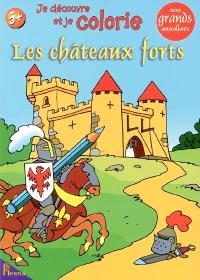 Je découvre et je colorie les châteaux forts