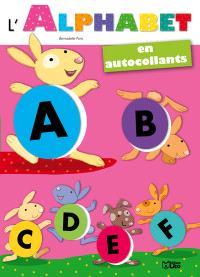 L'alphabet en autocollants : petits lapins