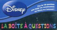 La boîte à questions Disney