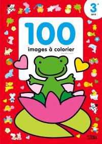 La grenouille : 100 images à colorier