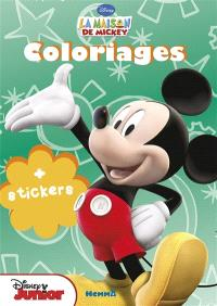 La maison de Mickey : coloriages