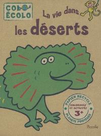 La vie dans les déserts