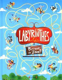 Labyrinthes en folie, Panique au zoo !