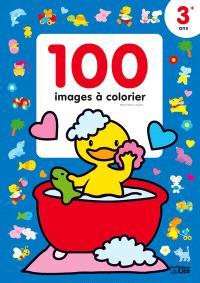 Le canard dans sa baignoire : 100 images à colorier