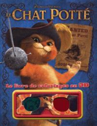 Le Chat Potté : le livre de coloriage en 3D