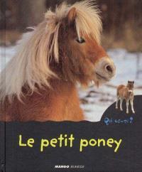 Le petit poney