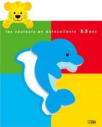 Le tigre : les couleurs en autocollants, 3-5 ans