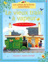 Le vieux train à vapeur