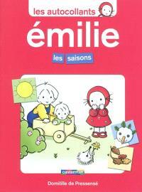 Les autocollants d'Émilie, Les saisons