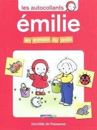 Les autocollants Émilie, Les animaux du jardin