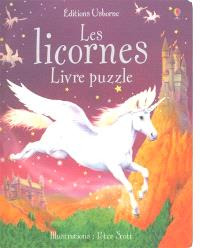 Les licornes : livres puzzle