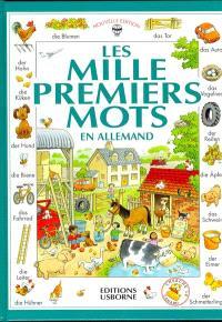 Les mille premiers mots en allemand