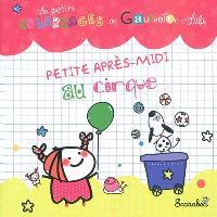 Les petits coloriages de Gaufrette et Lulu, Petite après-midi au cirque