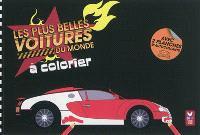 Les plus belles voitures du monde à colorier