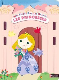 Les princesses : mes livres-puzzles géants