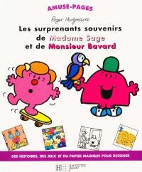 Les surprenants souvenirs de madame Sage et de monsieur Bavard