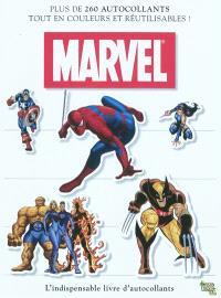 Marvel : l'indispensable livre d'autocollants