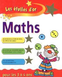 Maths pour les 3 à 4 ans