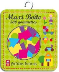 Maxi boîte 500 gommettes : petites formes