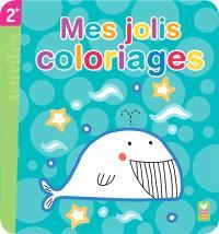 Mes jolis coloriages : la baleine