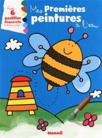 Mes premières peintures à l'eau : abeille