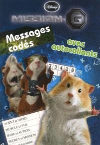 Mission-G : messages codés, avec autocollants