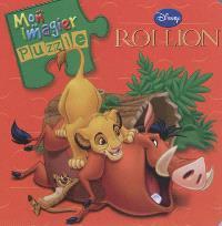 Le roi lion : mon imagier puzzle