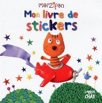Mon livre de stickers : avion