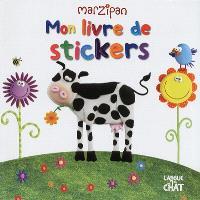 Mon livre de stickers : vache