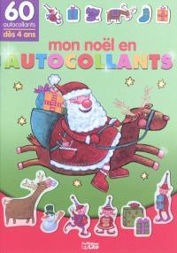 Mon Noël en autocollants : 60 autocollants, dès 4 ans