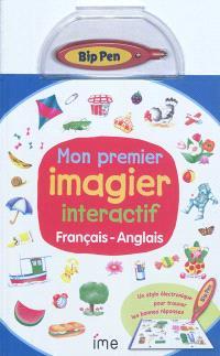 Mon premier imagier interactif : français-anglais
