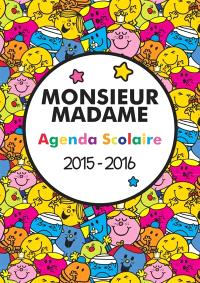 Monsieur Madame : agenda scolaire 2015-2016