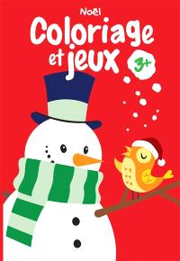 Noël : coloriage et jeux 3+
