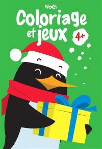 Noël : coloriage et jeux 4+
