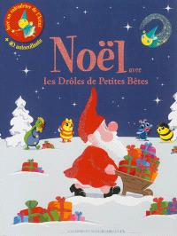 Noël avec les drôles de petites bêtes : un livre de jeux et d'activités