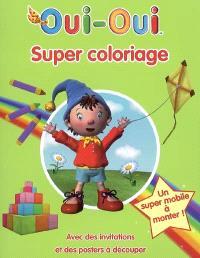 Oui-Oui, super coloriage