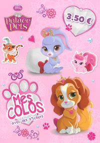 Palace pets : mes colos avec des stickers