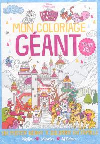 Palace Pets : mon coloriage géant
