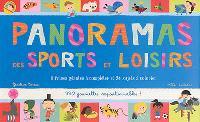 Panoramas des sports et loisirs : 8 frises géantes à compléter et 24 sujets à colorier : 330 gommettes repositionnables !