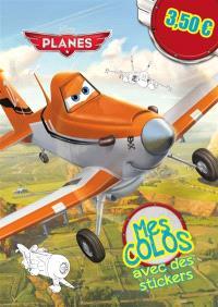 Planes : mes colos avec des stickers