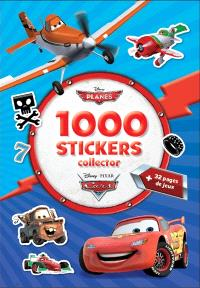Planes, Cars : 1.000 stickers collector
