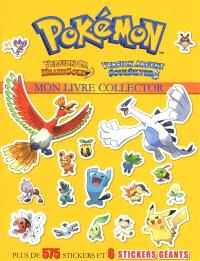 Pokémon : mon livre collector : version or Heartgold, version argent Soulsilver